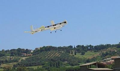 Беспилотный летающий аппарат FanWings
