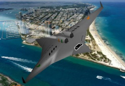 Гиперзвуковой самолет SBiDir-FW