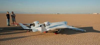 Новый самолет X-48C