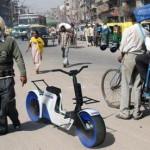Экономичный мотоцикл TCOOTER