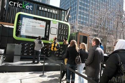 Samsung Messager - самый большой телефон в мире