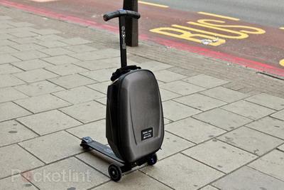 Скутер-чемодан от компании Micro Scooters UK