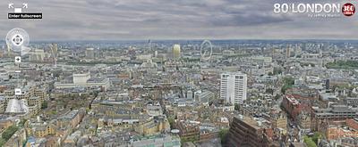 Самая большая фото панорама Лондона