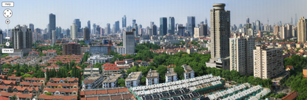 Самая большая панорама Шанхая - 272,3 гигапикселя