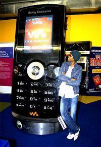 Гигантская копия Sony Ericsson W810i