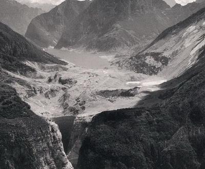 Плотина Вайонт (Италия), огромная волна высотой 90 метров