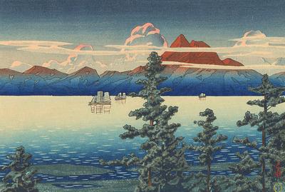 Унзен (Япония) 1792 год