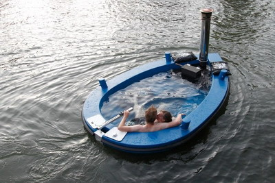 Прогулочный катер HotTugboat