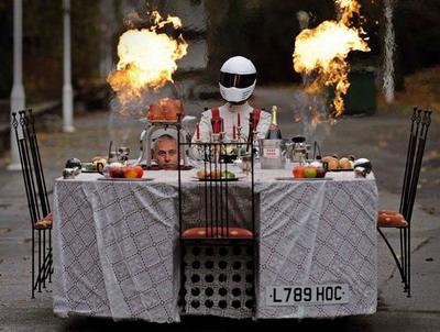 Автомобиль-стол Fast Food