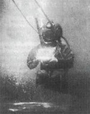 Самое старое подводное фото в мире
