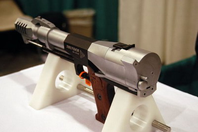 Thunder 50 bmg - самый мощный пистолет в мире