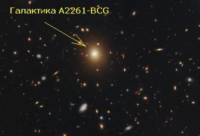 Галактика A2261-BCG