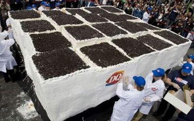 Самый большой торт в мире