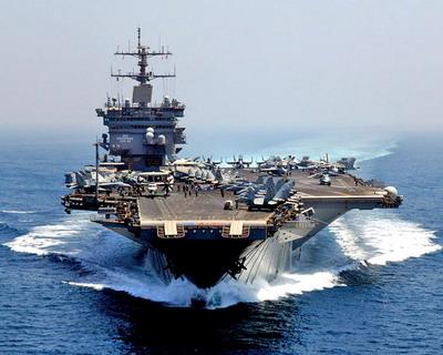 Энтерпрайз (Enterprise) - самый большой авианосец в мире