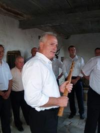 Франко Благоник - новоизбранный мэр города