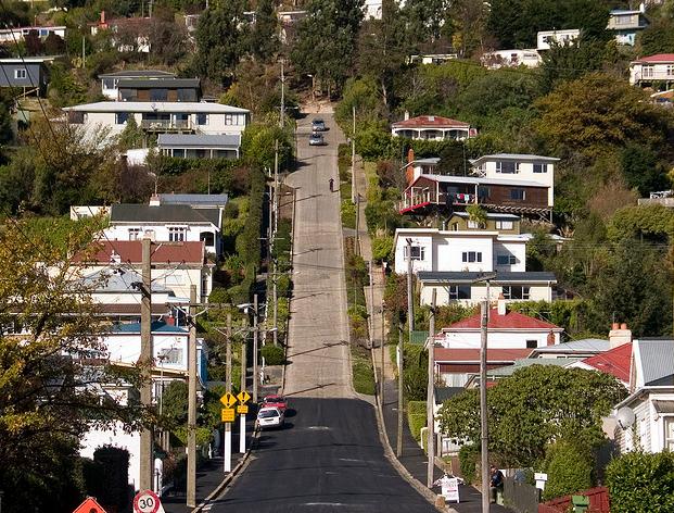 Улица Болдуин (Новая Зеландия, г. Данидин)