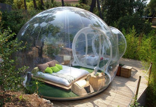 Необычный номер Bubble Rooms
