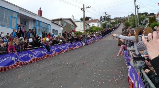 Соревнования «Cadbury Jaffa Race»