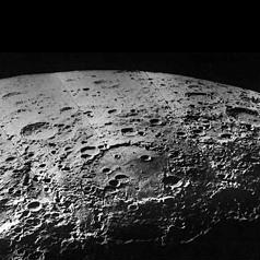Лунный кратер Герцшпрунг