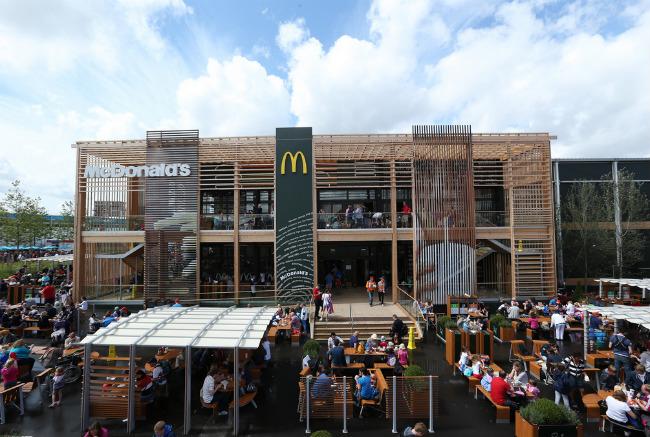 Самый большой Макдональдс в мире | Самое интересное
