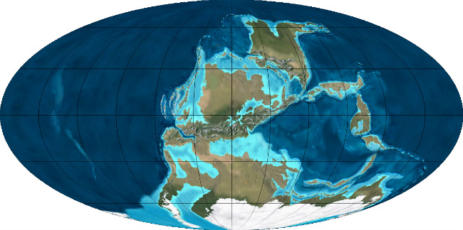 Земля в период карбона