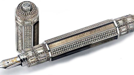 Montegrappa Peace Pen — самая дорогая ручка в мире