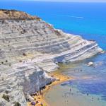 Удивительная Лестница Турков (Скала деи Турки) на Сицилии