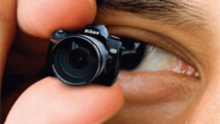 Самый маленький фотоаппарат в мире