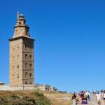 Уникальный маяк Башня Геркулеса (Башня Бригантии)