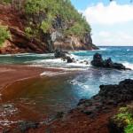 Красный пляж Каихалулу, Гавайские острова