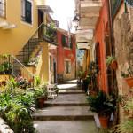 Город Монтероссо-аль-Маре, Италия
