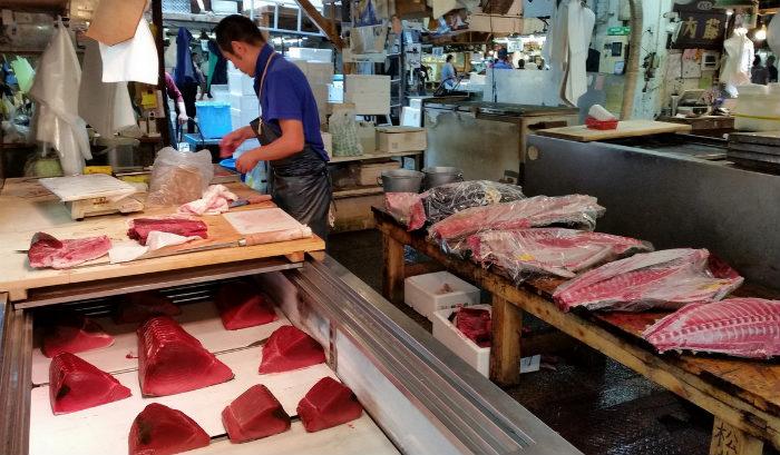 The Tsukiji Market2