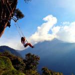 Качели на краю света, Баньос, Эквадор