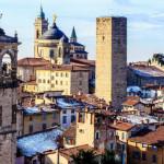 Город Бергамо, Италия