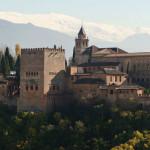 Альгамбра в Гранаде, Испания
