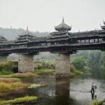 Мост Дождя и Ветра Ченьян, Китай