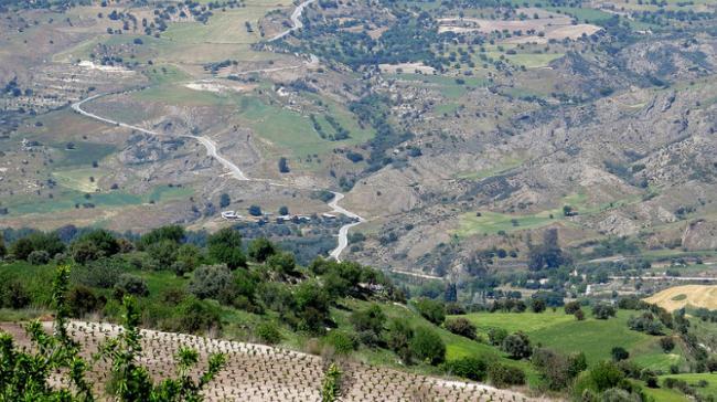 Рядом с Пафосом, Кипр.