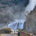 Мраморный водопад, Италия