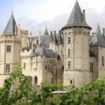 Замок Сомюр во Франции