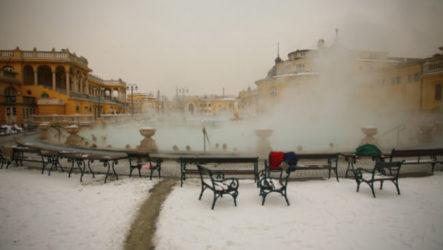 Зимний отдых в Будапеште