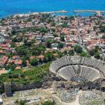 Достопримечательности города Сиде, Турция