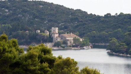 Хорватский остров Млет